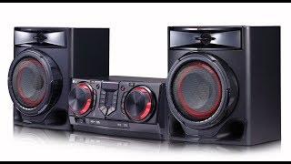 обзор на музыкальный центр LG XBOOM CJ44 480W hi-fi (2 часть)
