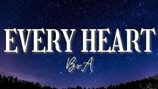 BoA - Every Heart | Inuyasha OST (Lyrics Video)
