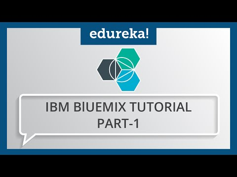 IBM Bluemix Tutorial - Part 1 | What is IBM Bluemix? | IBM Bluemix Certification Training