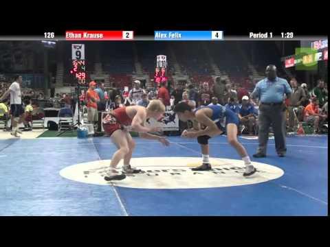 126 Ethan Krause vs. Alex Felix
