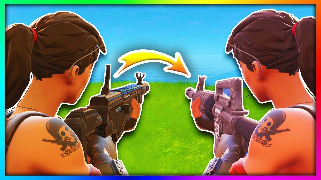 8 Guns You Didn't Know Were Secretly Changed in Fortnite: Battle Royale