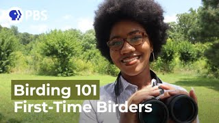 First-Time Birders | Birding 101 with Sheridan Alford