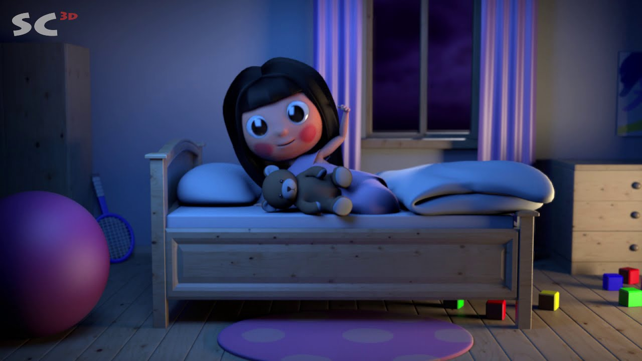 Jenny And Friends Good Night 3d Animation Short Song