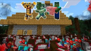 Gambar cover MC NAVEED AND ZOMBIE FAMILY SURVIVE ZOMBIE APOCALYPSE IN MINECRAFT! BUILD A ZOMBIE HOUSE! Minecraft