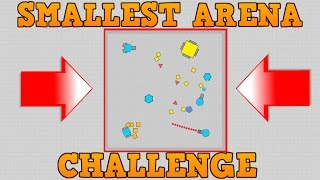 DIEP.IO TAG MODE CHALLENGE!! // Making The Smallest Arena // Short Rant