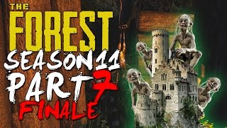 The Forest Alpha 0.11 UPDATE Season 11 Episode 7 FINALE! - FORT SMEEGS COMPLETE! + A PERFECT END!