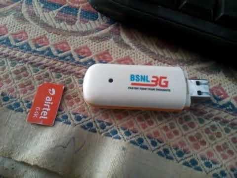 BSNL 3G DATA CARD LW273 DRIVERS WINDOWS 7 (2019)