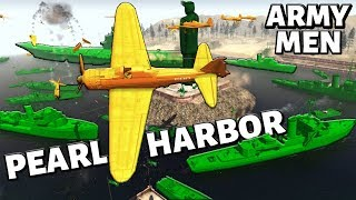 PLASTIC PEARL HARBOR ? Army Men & Aircraft Carriers ! A.M.O.W