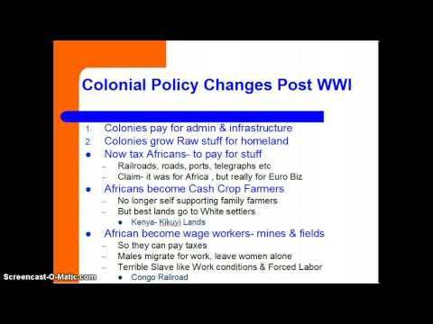 Ch 36.2 Africa Under Colonial Domination