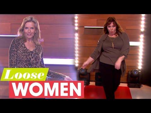 Coleen Nolan Struts Her Stuff With Penny Lancaster | Loose Women