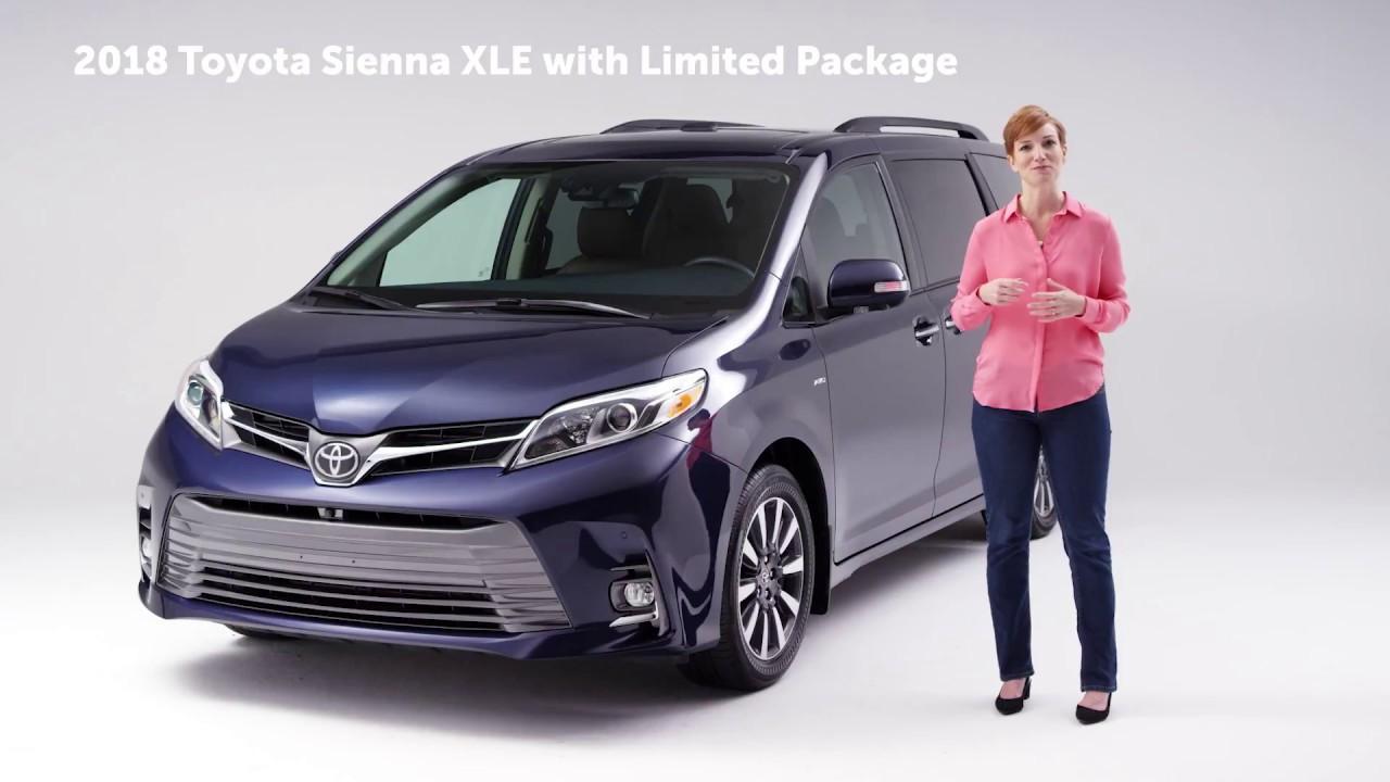 2018 Toyota Sienna Awd Vs Odyssey