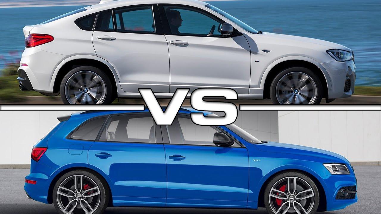 Bmw X4 M40i Vs Audi Sq5 Road Test Youtube