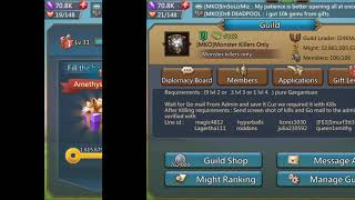 Hunting 100 Level 5 Queen Bee's - Lords Mobile
