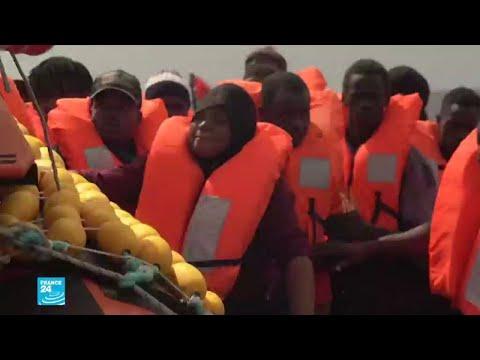 إيطاليا تسمح لسفينة انقاذ تحمل مهاجرين بالتوجه إلى لامبيدوزا  - نشر قبل 2 ساعة