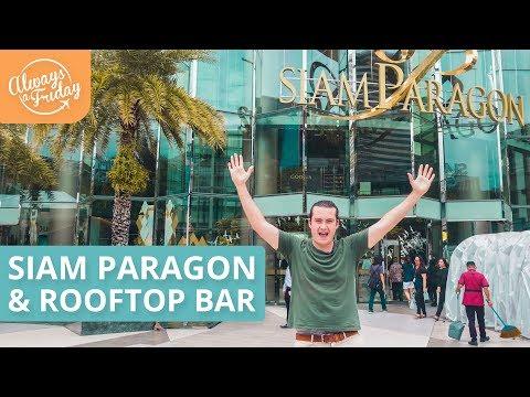 SHOPPING IN SIAM PARAGON & OCTAVE ROOFTOP BAR - BANGKOK VLOG