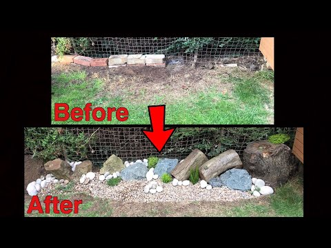Turn a wasted space into an Alpine Rockery! - Garden Transformation project
