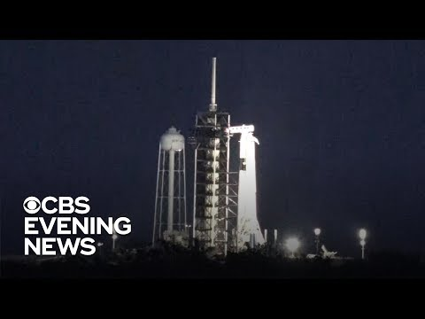 SpaceX to launch test flight for NASA