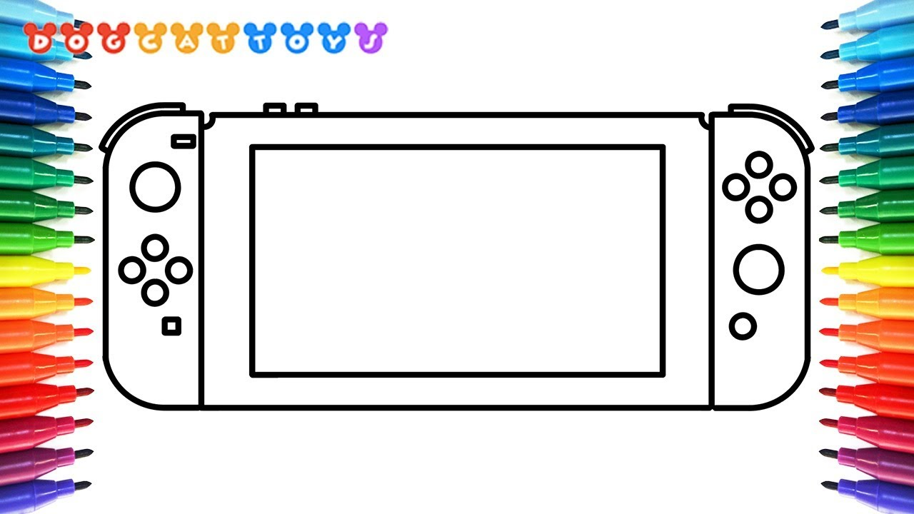 nintendo ds coloring pages - photo#36