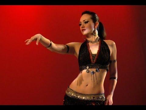 Tribal Fusion improvisation - Irina Akulenko - from Diamond Cut Bellydance instant video / DVD