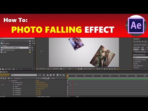 How To: Create a 3D Photo Falling Effect in Adobe After Effects