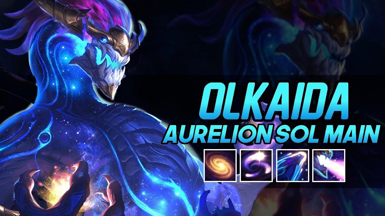 "Olkaida ""Aurelion Sol Main"" Montage   Best Aurelion Sol Plays"