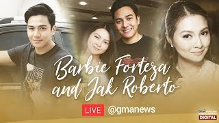 REPLAY: Conversations with Barbie Forteza and Jak Roberto