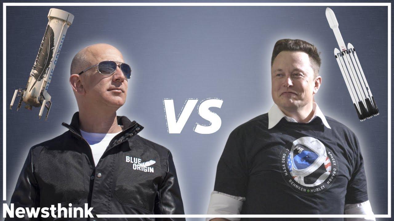 SpaceX vs Blue Origin: The Rivalry