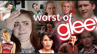 THE WORST SONGS IN GLEE!