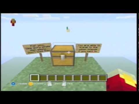 Minecraft SKYBLOCK ADVENTURE MAP DOWNLOAD! Xbox 360 ( TU13 )