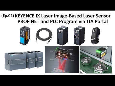 KI05.  (EP02) IX Laser Sensor - (DL-PN1) Profinet Communication Configuration Via TIA Portal