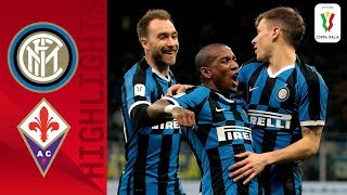 Inter 2-1 Fiorentina | Eriksen Makes Inter Debut in Inter Win! | Quarter-final | Coppa Italia
