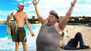 Видео с вебкамер крымских пляжей. 08.06.2018
