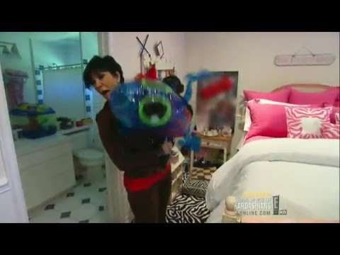 Kris Jenner attacked by monkey!