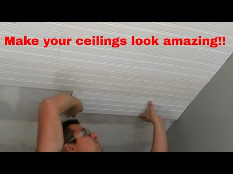 how-to-install-bead-board-on-ceilings