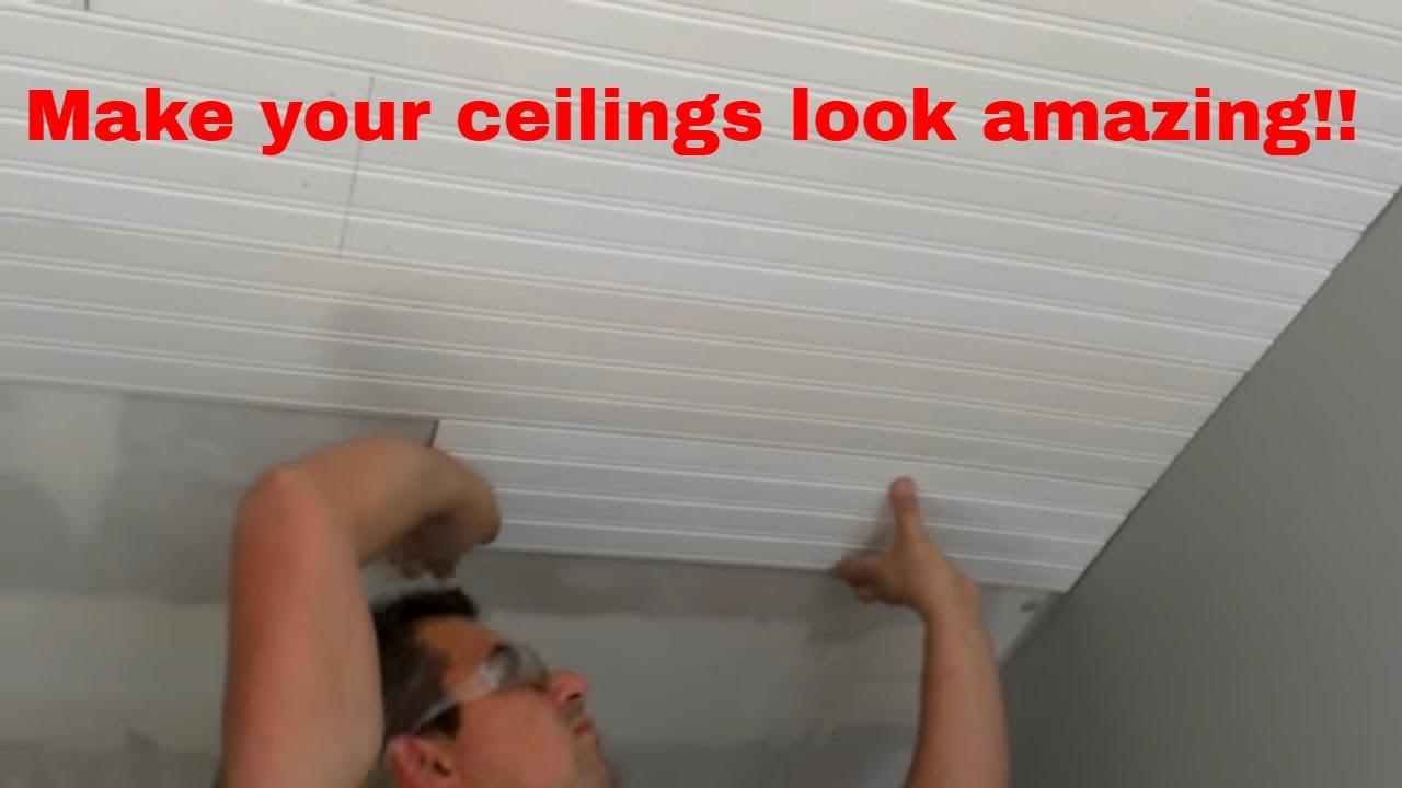 Beadboard Over Drywall