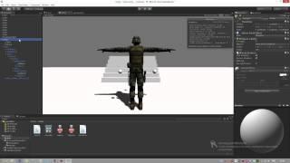 Уроки по Unity3D | Изучаем Mecanim часть 2
