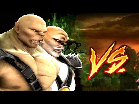 Mortal Kombat Komplete Edition - Goro & Kintaro Tag Ladder 60FPS Gameplay Playthrough