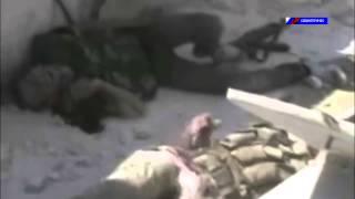 Гибель Сирийского боевика при попытке спасти товарища