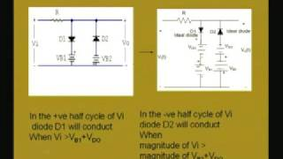 Module - 1 Lecture - 6 Clipping and Clamping Circuits thumbnail