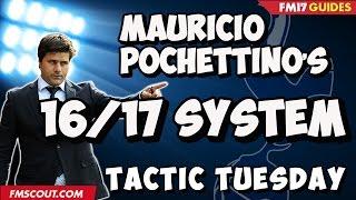 Tactic Tuesday - Mauricio Pochettino's Tottenham in Football Manager 2017