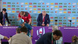 Gatland and Jones speak to media after quarter-final win