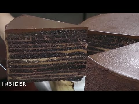 Michael Jordan's Chocolate Cake