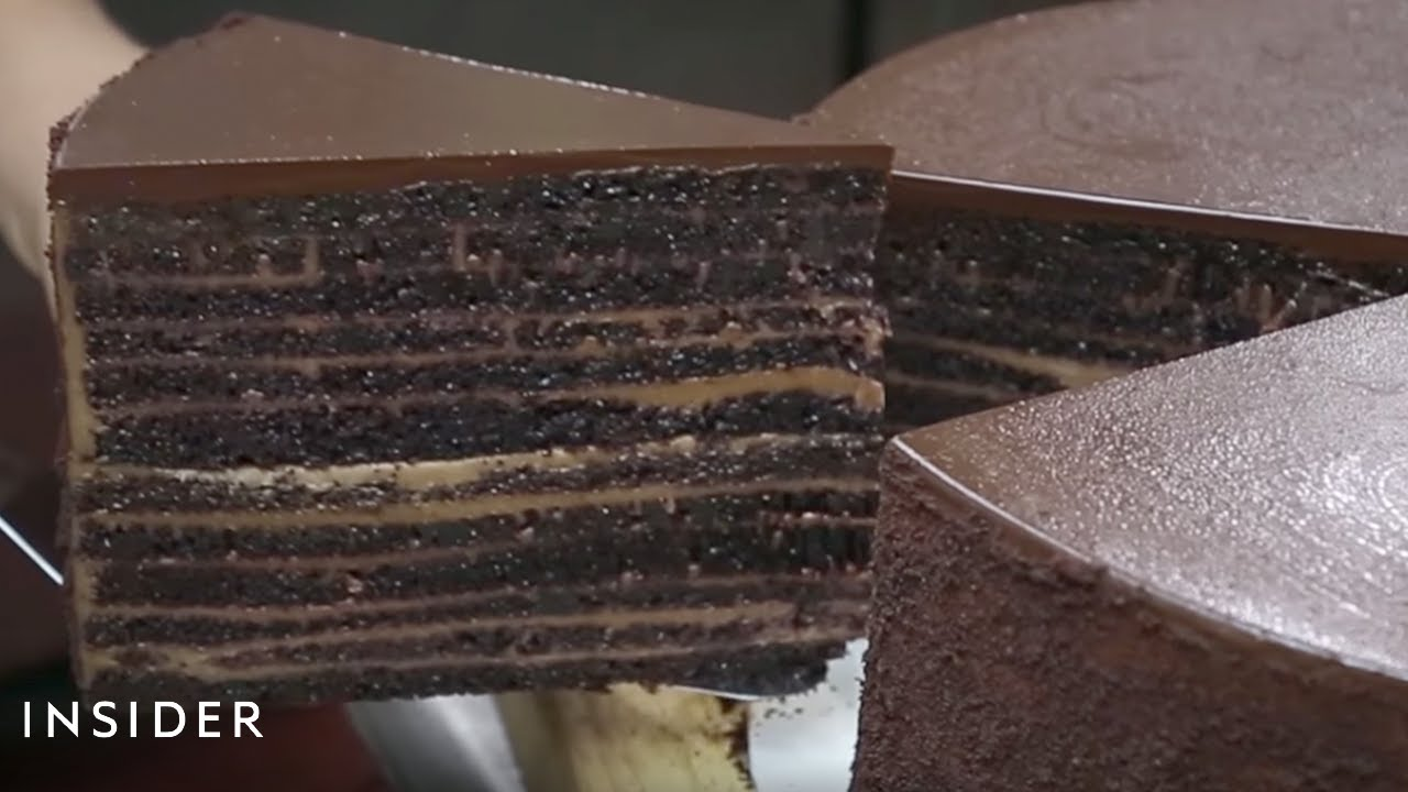 Michael Jordans Chocolate Cake YouTube