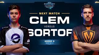 Clem vs SortOf - WCS Challenger 2018 Season 2 – EU