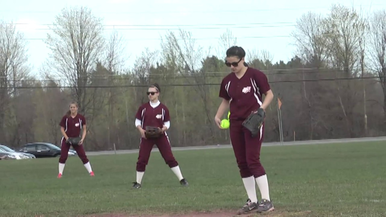 NCCS - Plattsburgh Softball  4-19-12