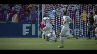 FIFA 16 PC - Barça Vs Madrid Machinima (1080p 60fps)