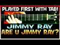 Jimmy Ray Are You Jimmy Ray Guitar Lesson with Chords and TAB Tutorial