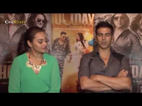Exclusive  With The Holiday Cast│Akshay Kumar, Sonakshi Sinha
