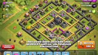 """Clash of Clans [German/Deutsch] Part 16 """"Road to Master #5 Kristall 2"""