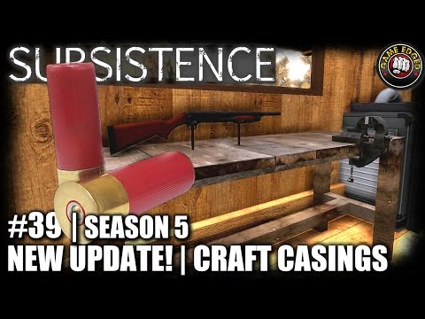 Subsistence | EP39 | New Update! Crafting Casings, Zinc Ore | Let's Play Subsistence Gameplay (S5)